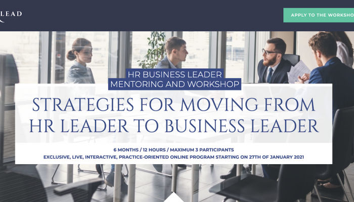 Your strategies for moving from HR Leader to HR Business Leader